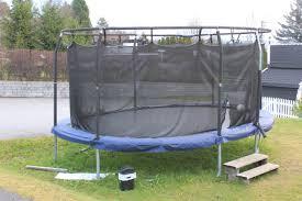 a round trampoline