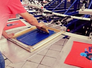 screen t-shirt printing