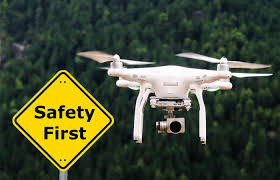 drone flying safety